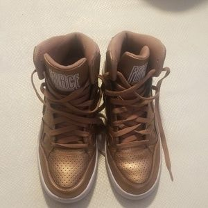 Nike FORCE golden color high top size9
